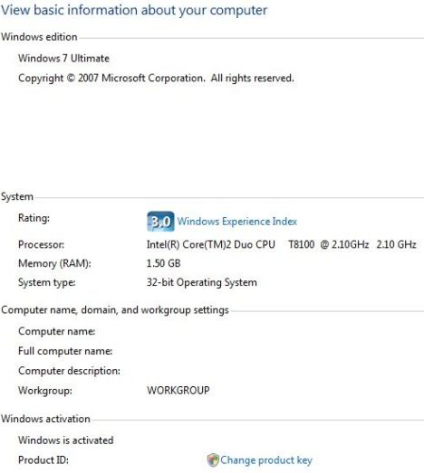 Activate Windows 7 build 6801 without a crack! | Ozl's Blog